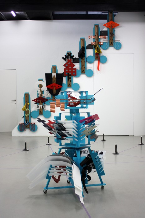 Formula: Marionette, installation view Base-Alpha Gallery, 2014