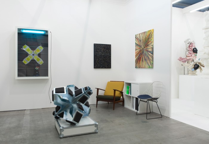 Art Brussels - Base-Alpha Gallery booth 2015
